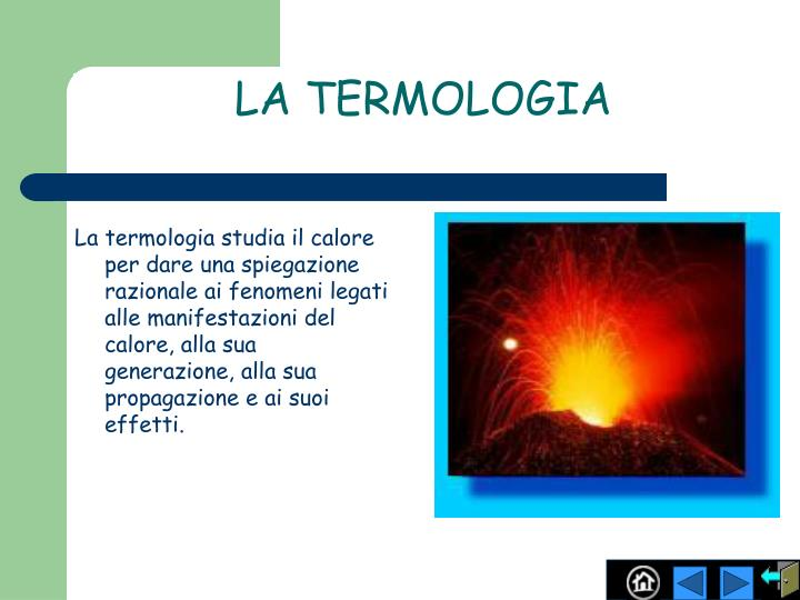 La termologia