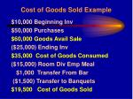 cost of goods sold example27