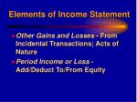 elements of income statement6