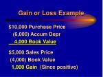 gain or loss example31