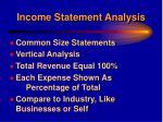 income statement analysis19