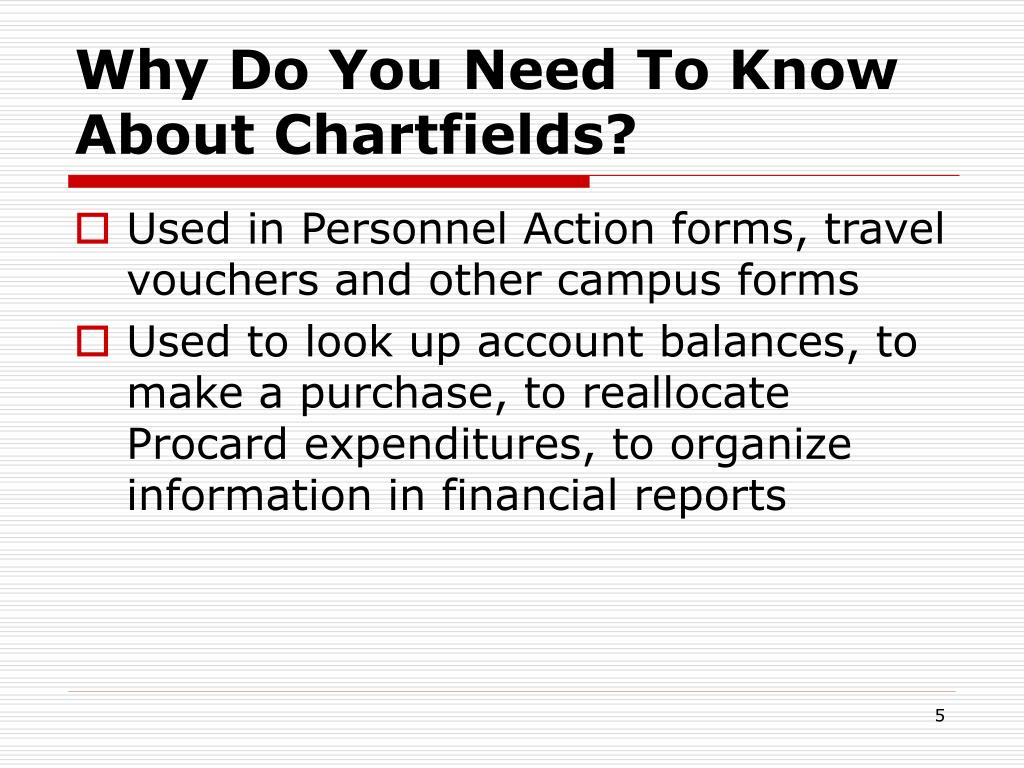 Why Do You Need To Know About Chartfields?