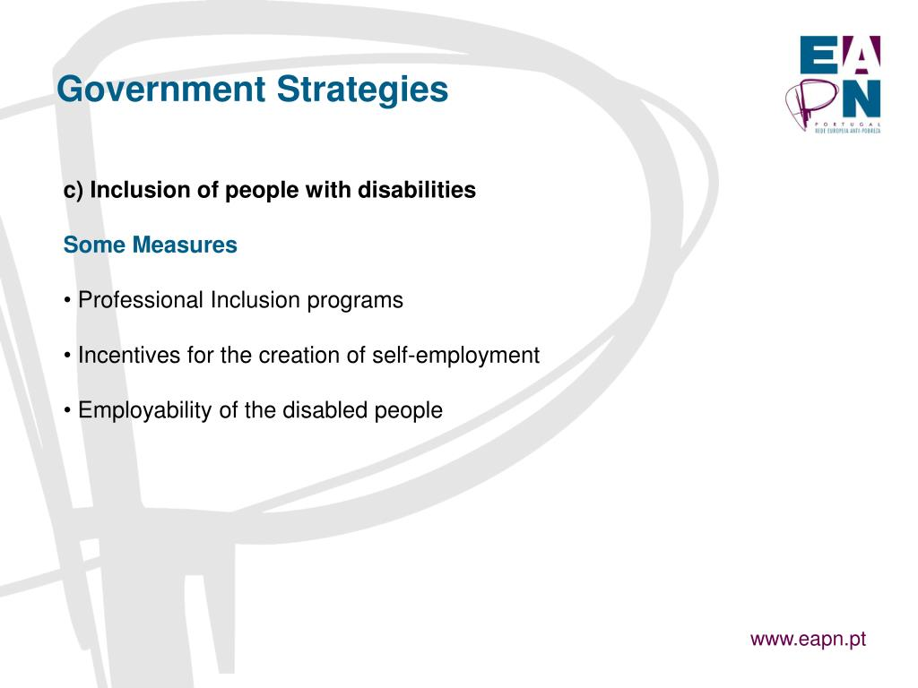 Government Strategies
