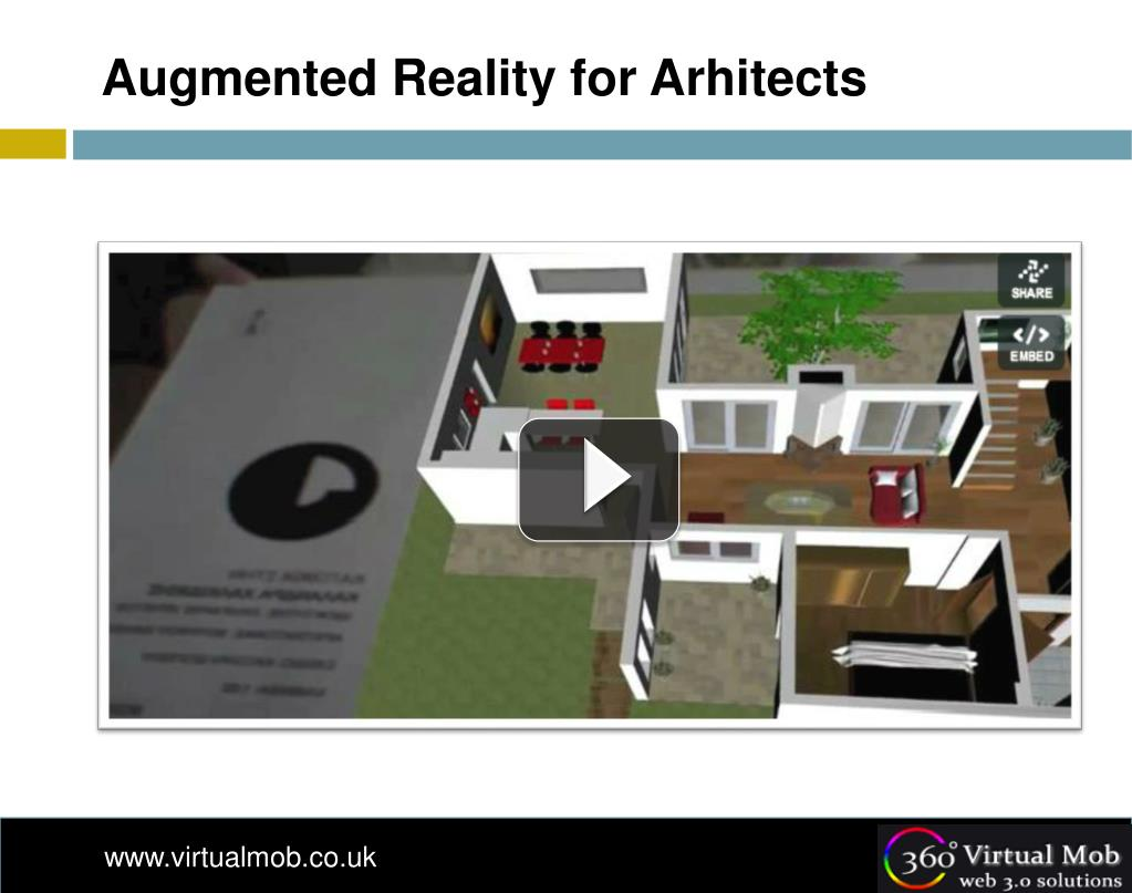 Augmented Reality for Arhitects