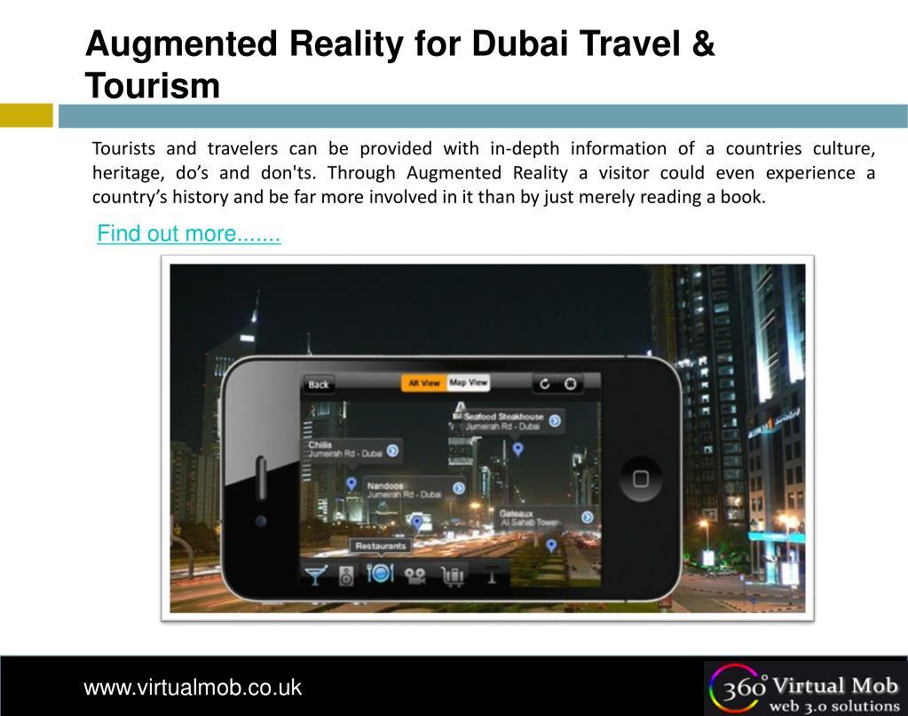 Augmented Reality for Dubai Travel & Tourism