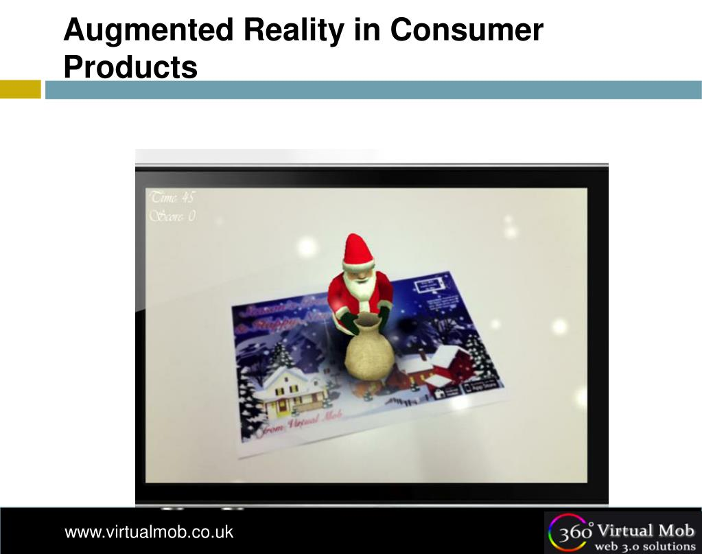 Augmented Reality in Consumer Products
