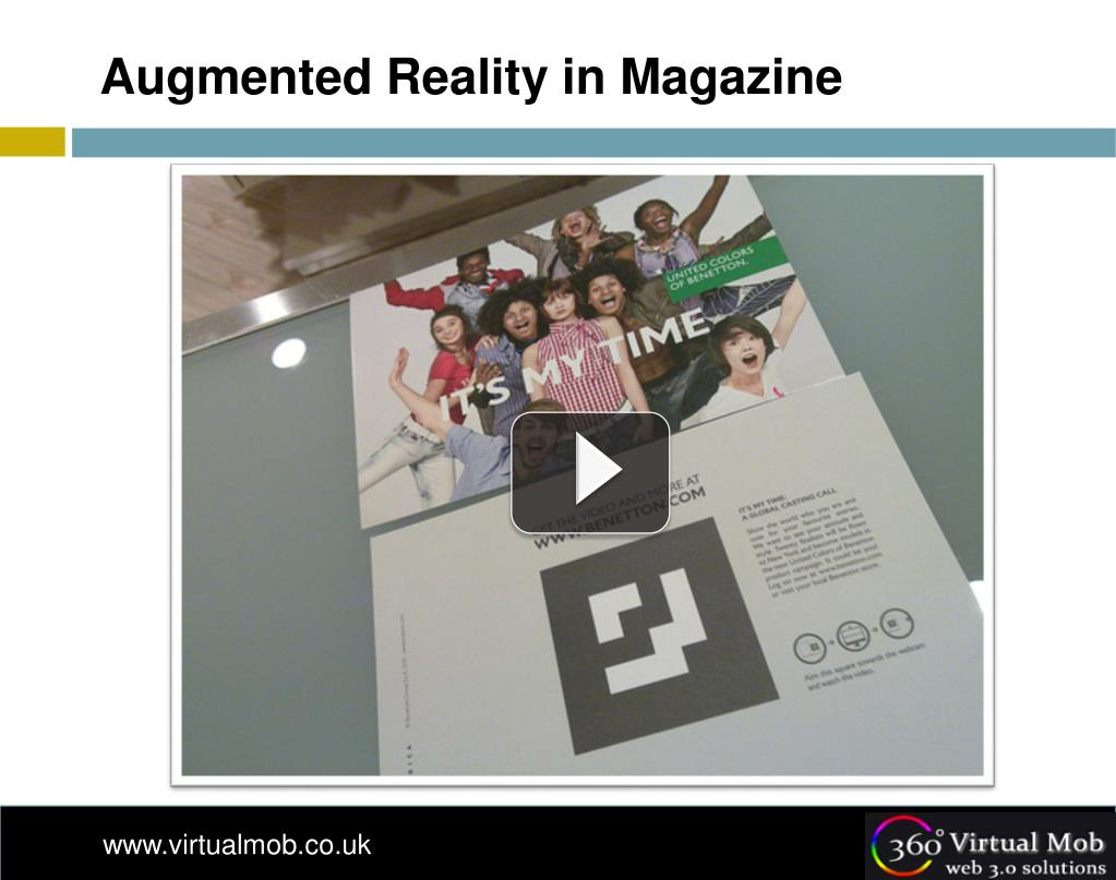 Augmented Reality in Magazine