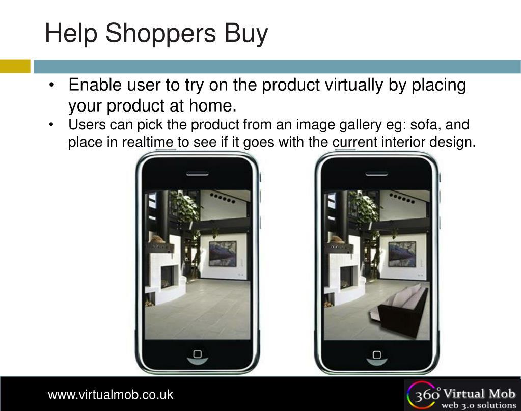 Help Shoppers Buy
