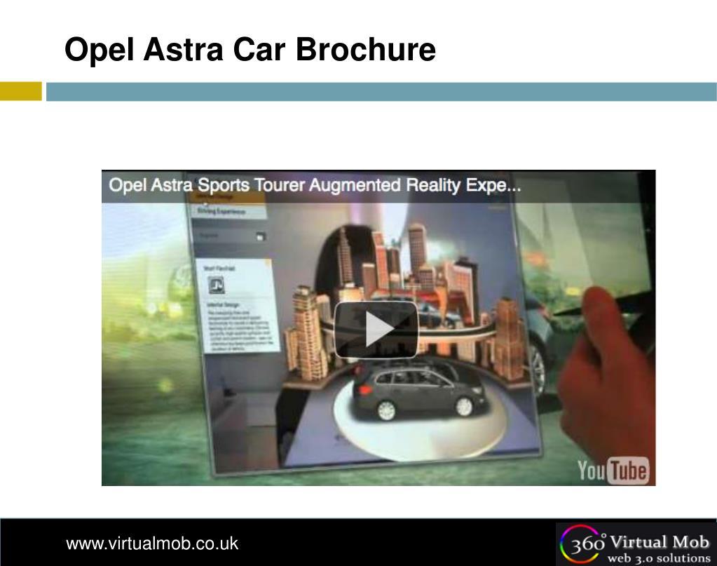 Opel Astra Car Brochure