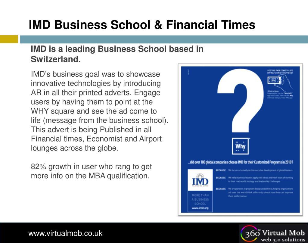 IMD Business School & Financial Times