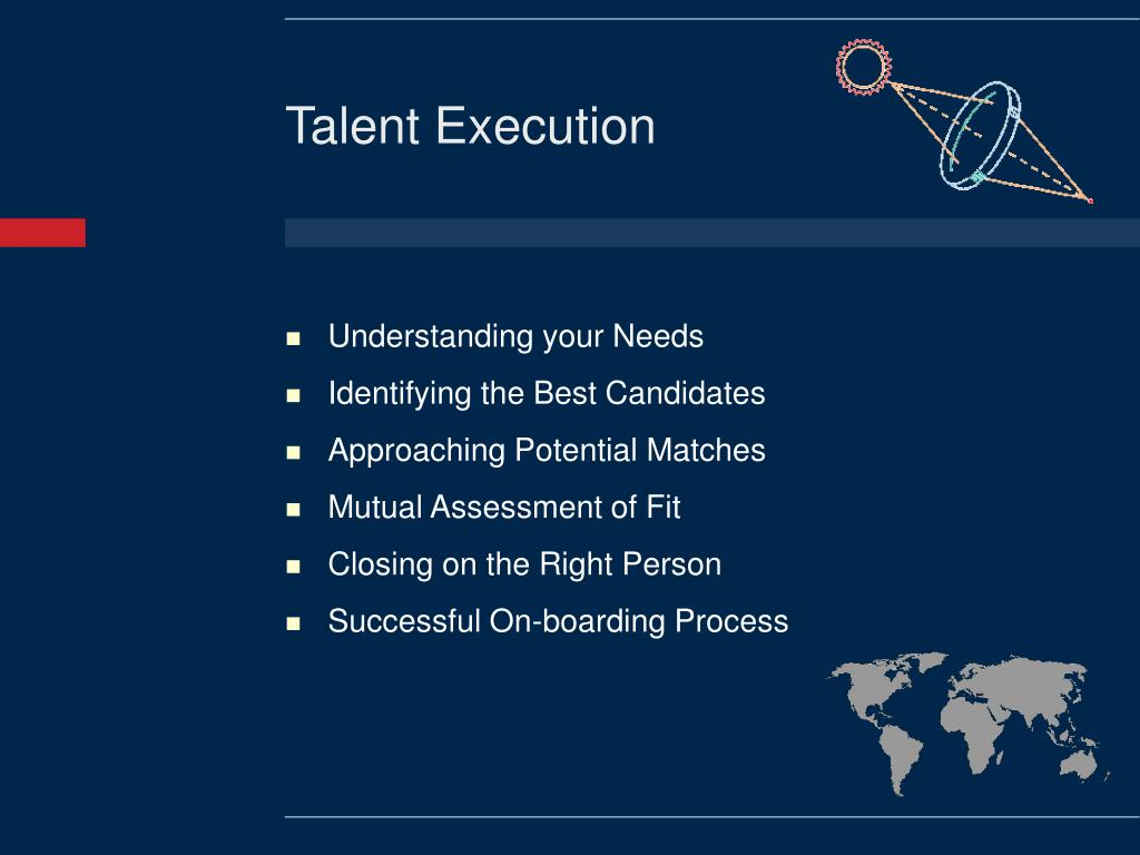 Talent Execution