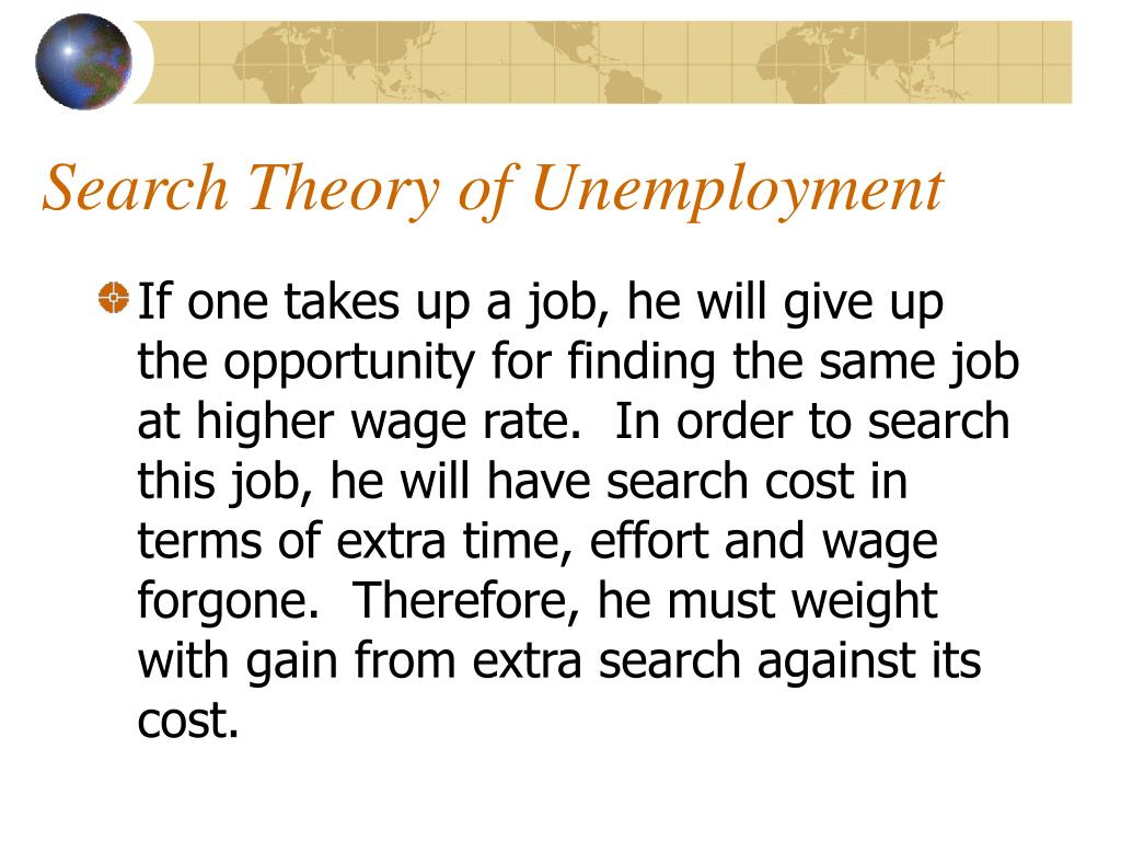 Search Theory of Unemployment
