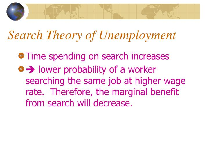 Search theory of unemployment3