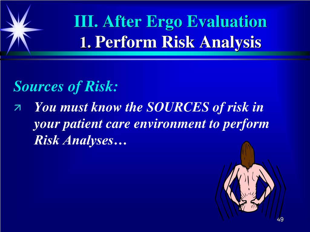 Sources of Risk: