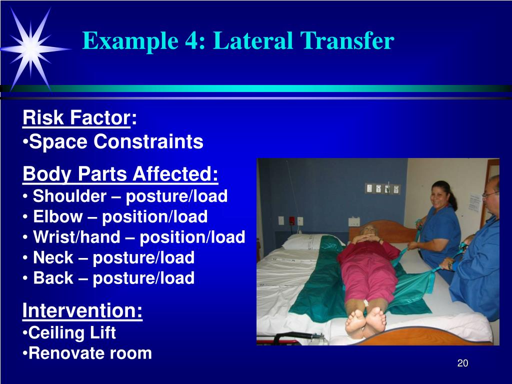Example 4: Lateral Transfer