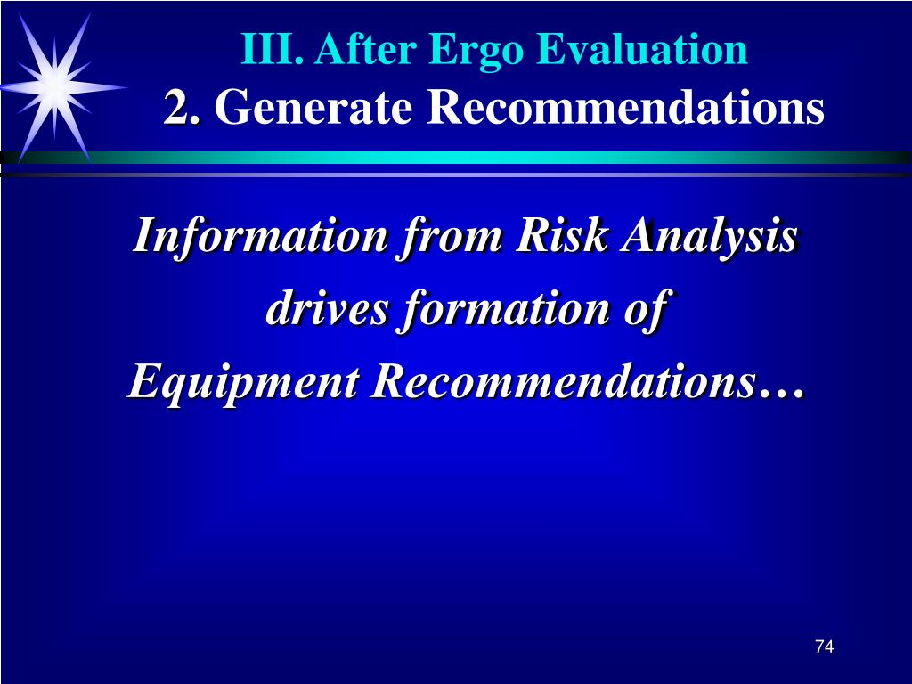 Information from Risk Analysis