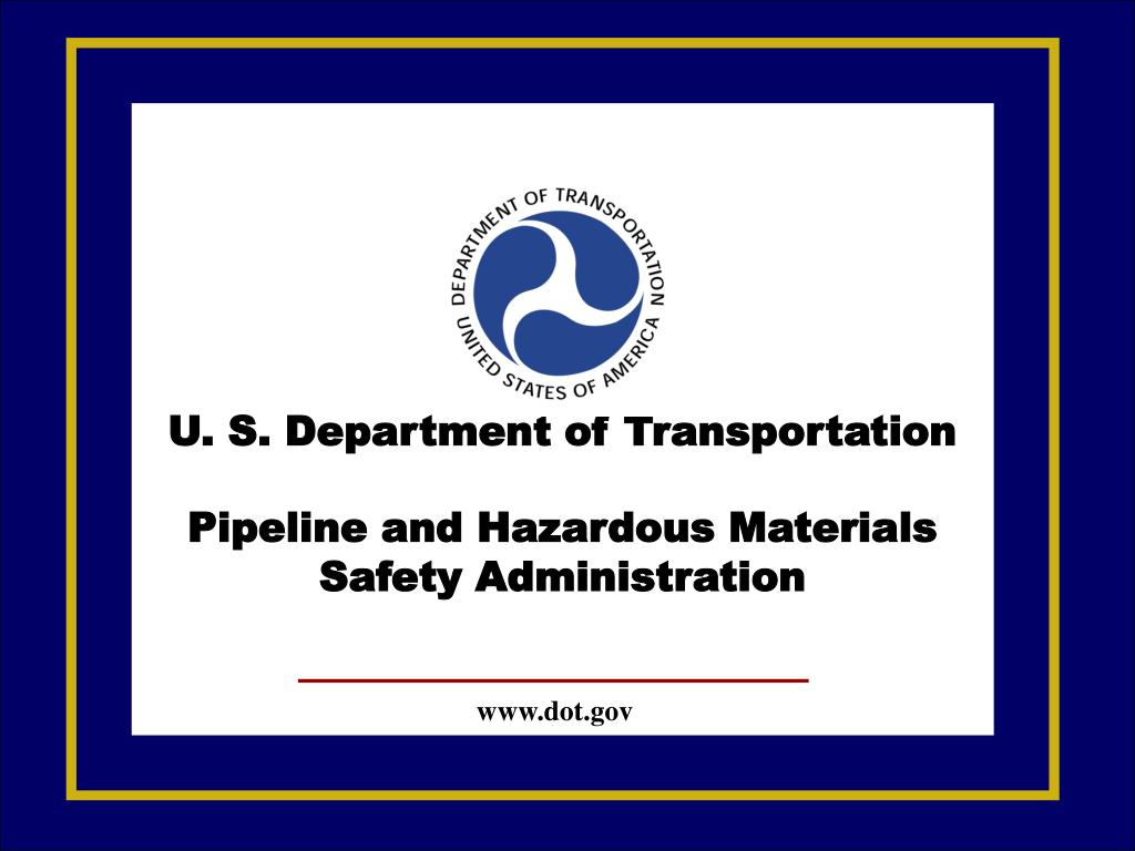 U. S. Department of Transportation