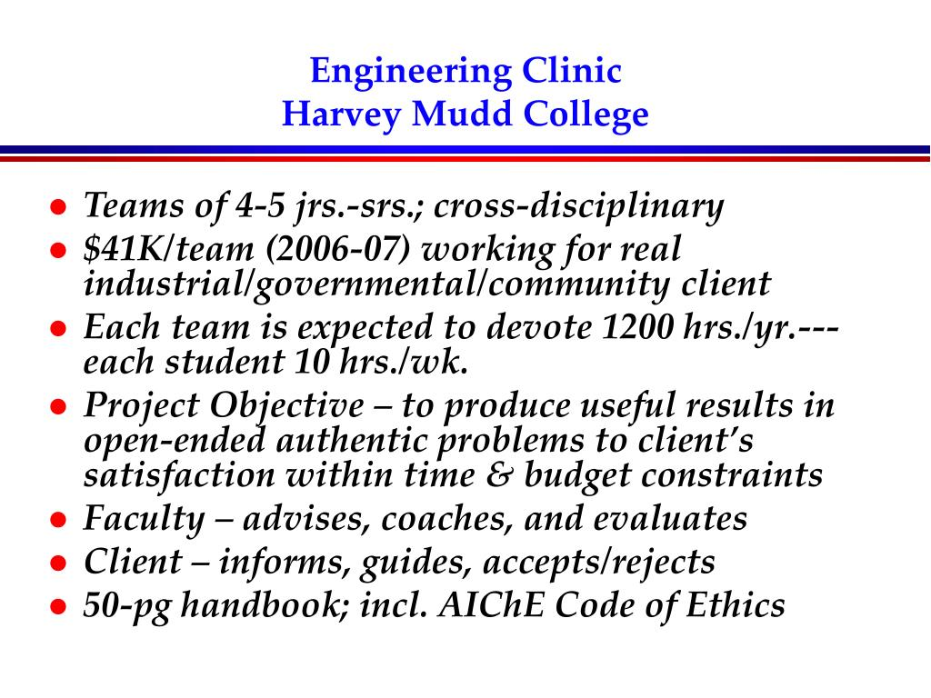 Engineering Clinic