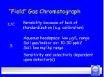 field gas chromatograph30