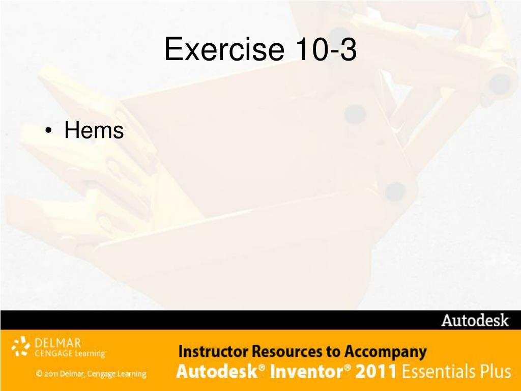 Exercise 10-3