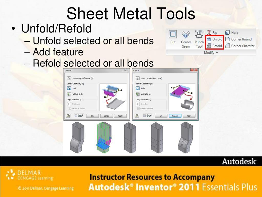 Sheet Metal Tools