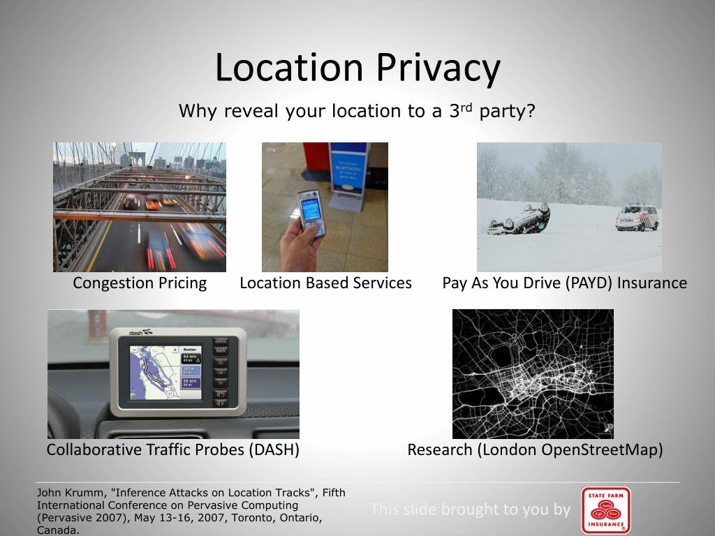 Location Privacy