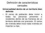 definici n de caracter sticas censales18