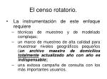 el censo rotatorio37