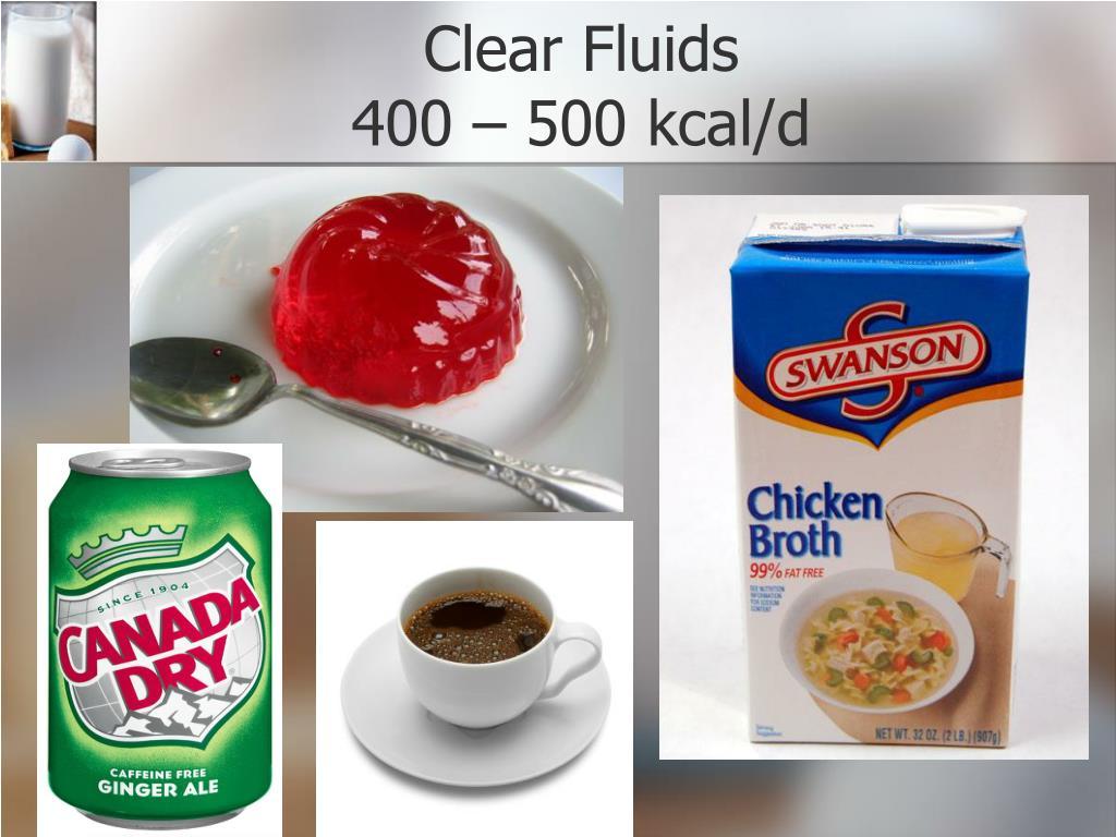 Clear Fluids