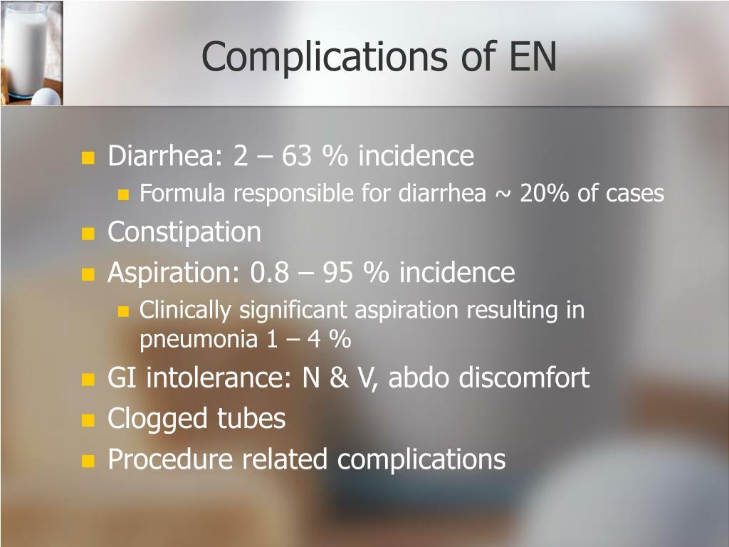 Complications of EN