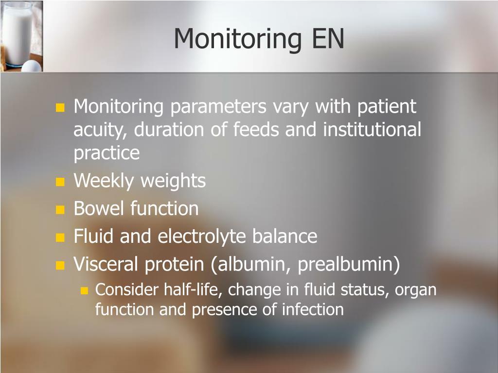 Monitoring EN