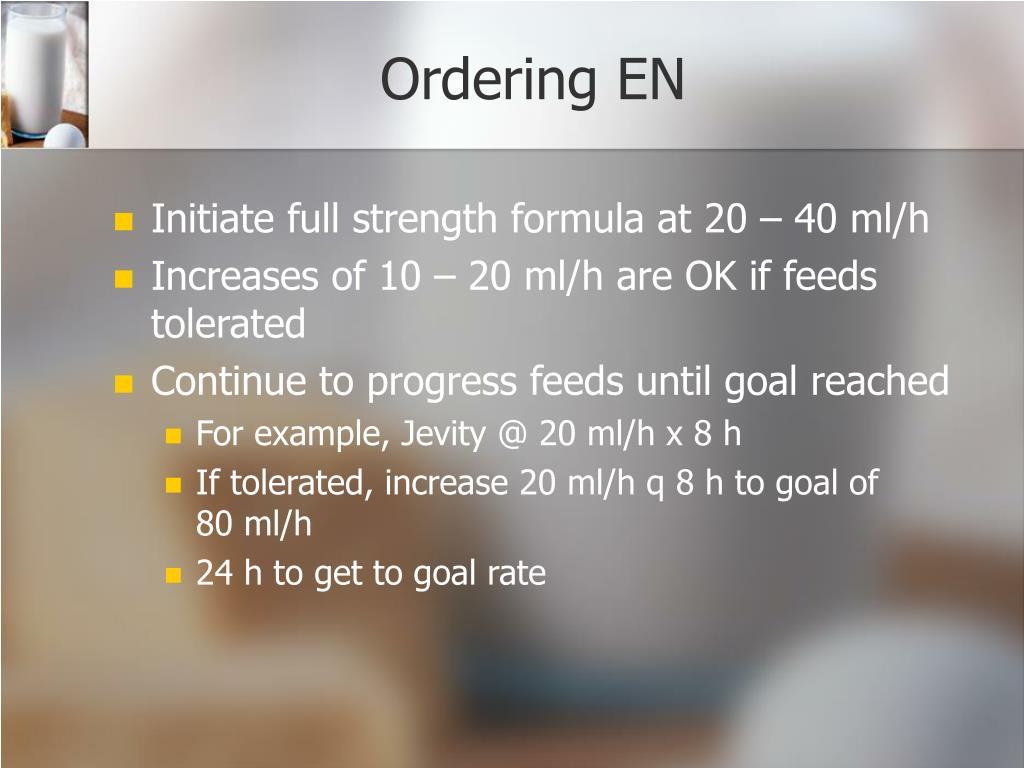 Ordering EN