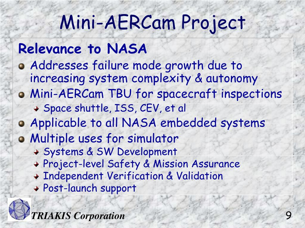Mini-AERCam Project