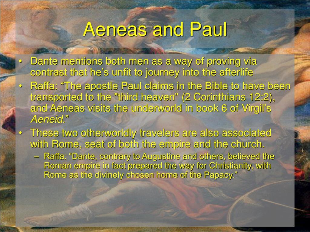 Aeneas and Paul