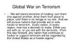 global war on terrorism1