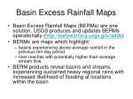 basin excess rainfall maps55
