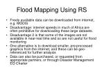 flood mapping using rs75