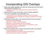 incorporating gis overlays88