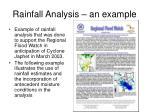 rainfall analysis an example50