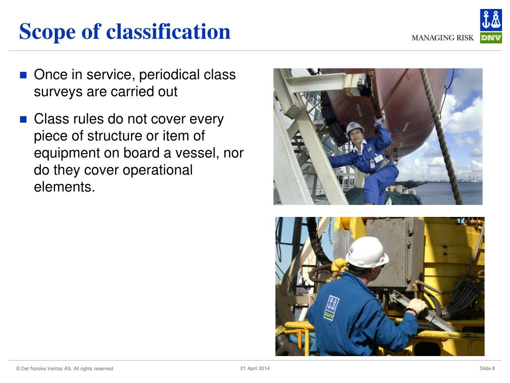 Scope of classification