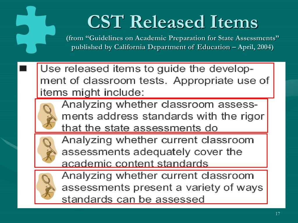 CST Released Items