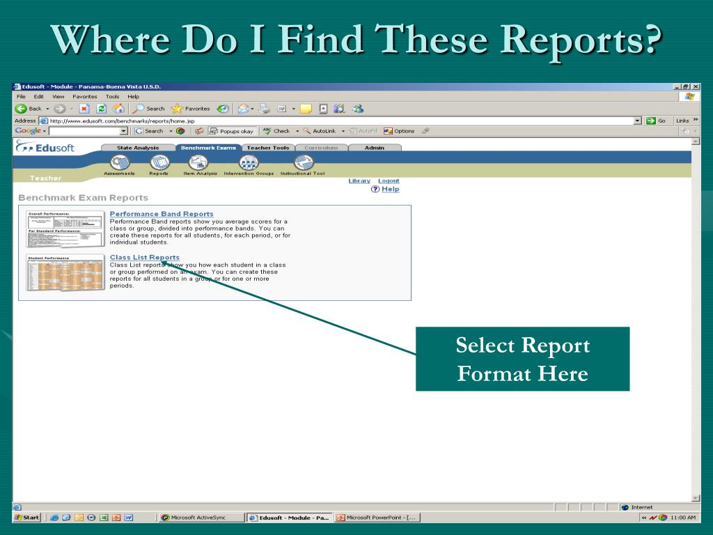 Where Do I Find These Reports?