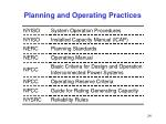 planning and operating practices