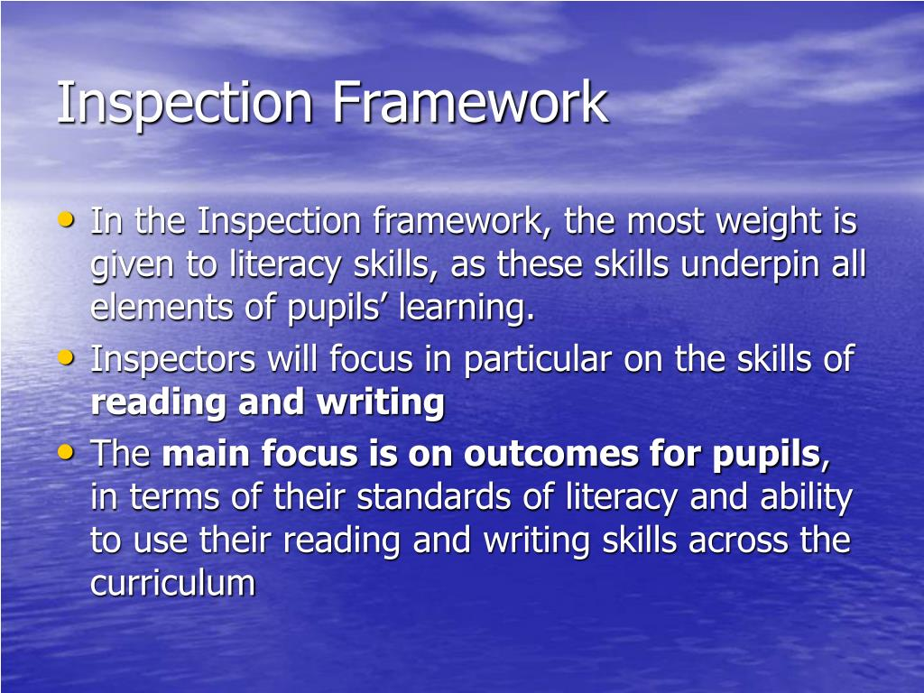 Inspection Framework