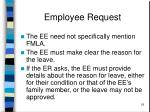 employee request18