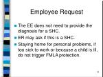 employee request19