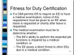 fitness for duty certification41