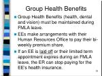 group health benefits