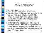 key employee