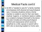 medical facts cont d